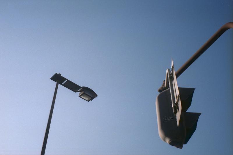 街灯と信号